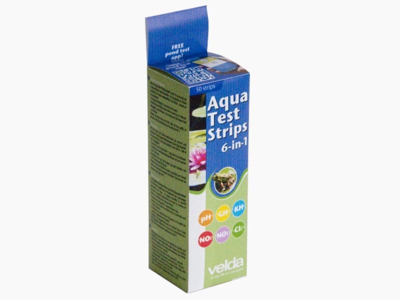 Velda Aqua Test Strip 6 In 1