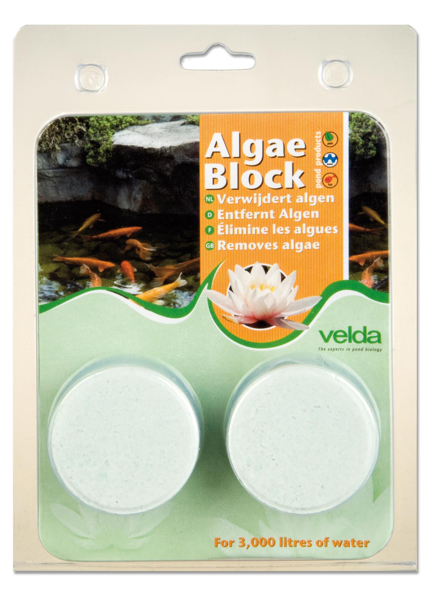 Velda Algae Blocks Voor 3.000 Liter Water