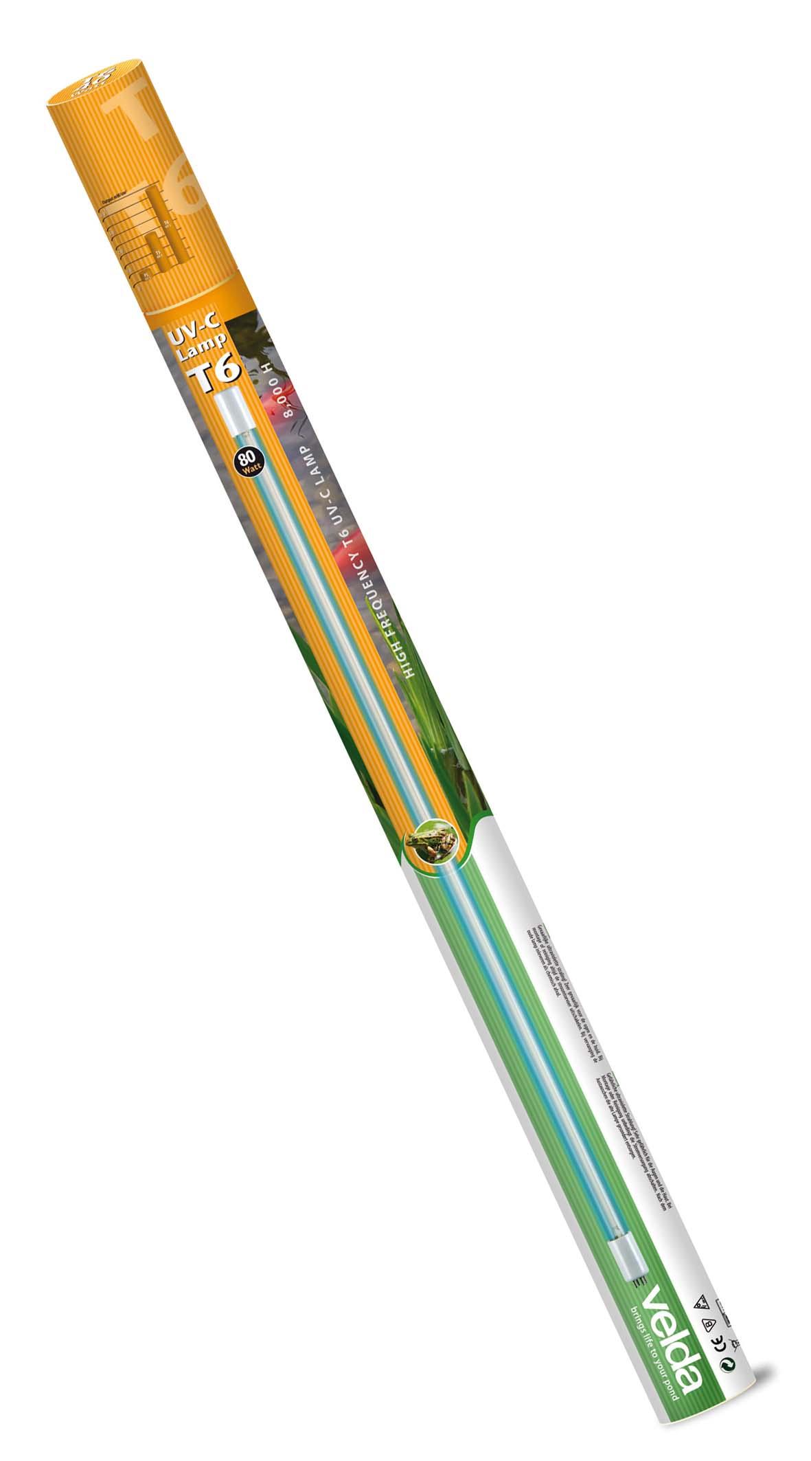 UV-C T6 Lamp 80 Watt