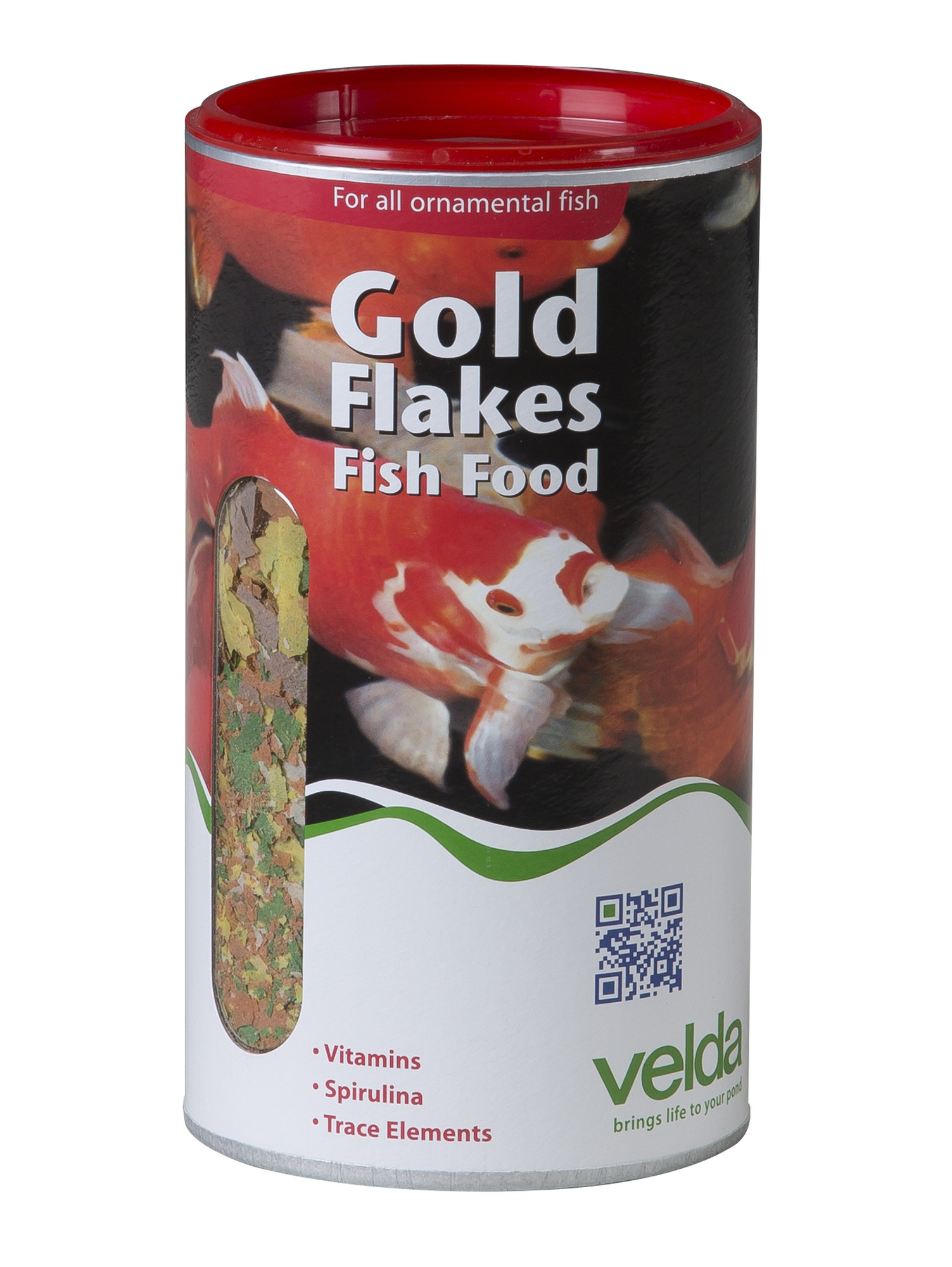 Velda Gold Flakes Fish Food 1250 Ml / 100 Gram