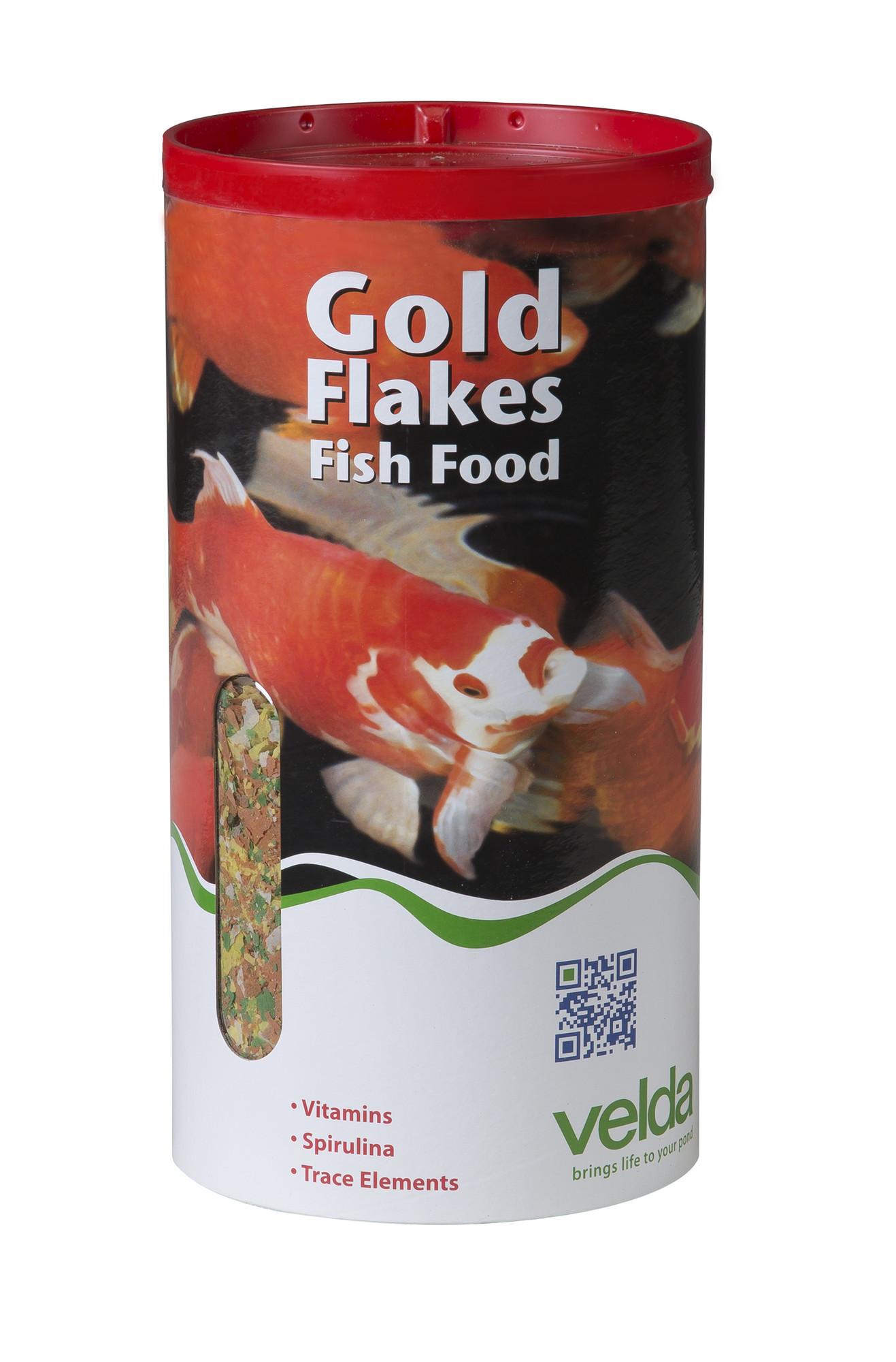 Velda Gold Flakes Fish Food 4000 Ml / 360 Gram