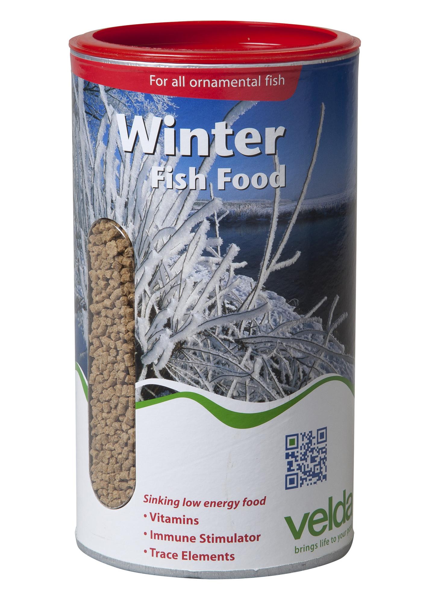 Velda Winter Fish Food 1250 Ml / 675 Gram