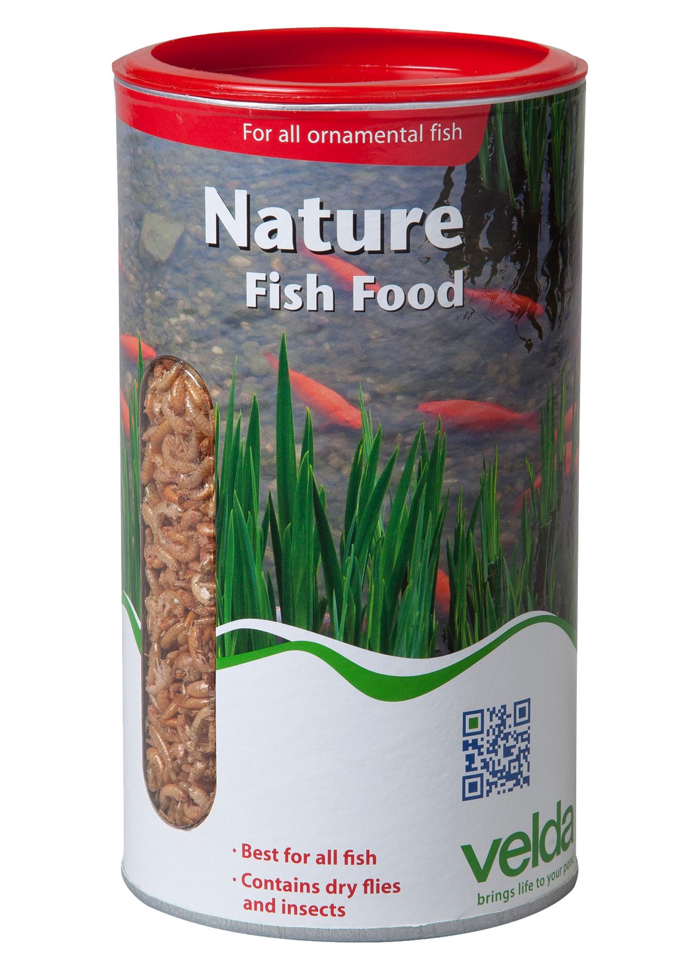 Velda Nature Fish Food 1250 Ml / 130 Gram