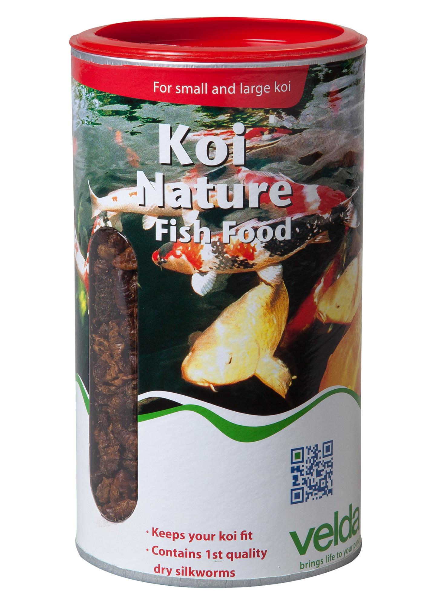 Velda Koi Nature Fish Food 1250 Ml / 360 Gram