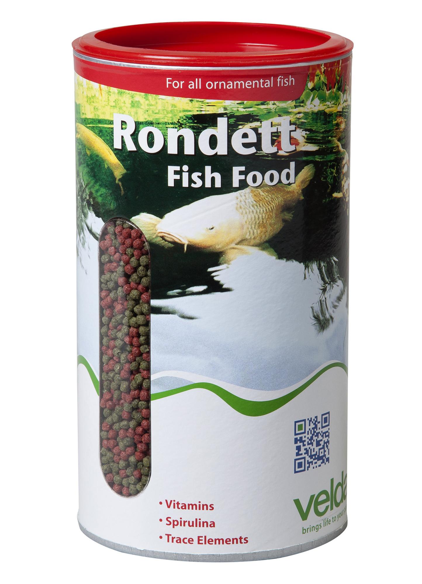 Velda Rondett Fish Food 4000 Ml / 1350 Gram