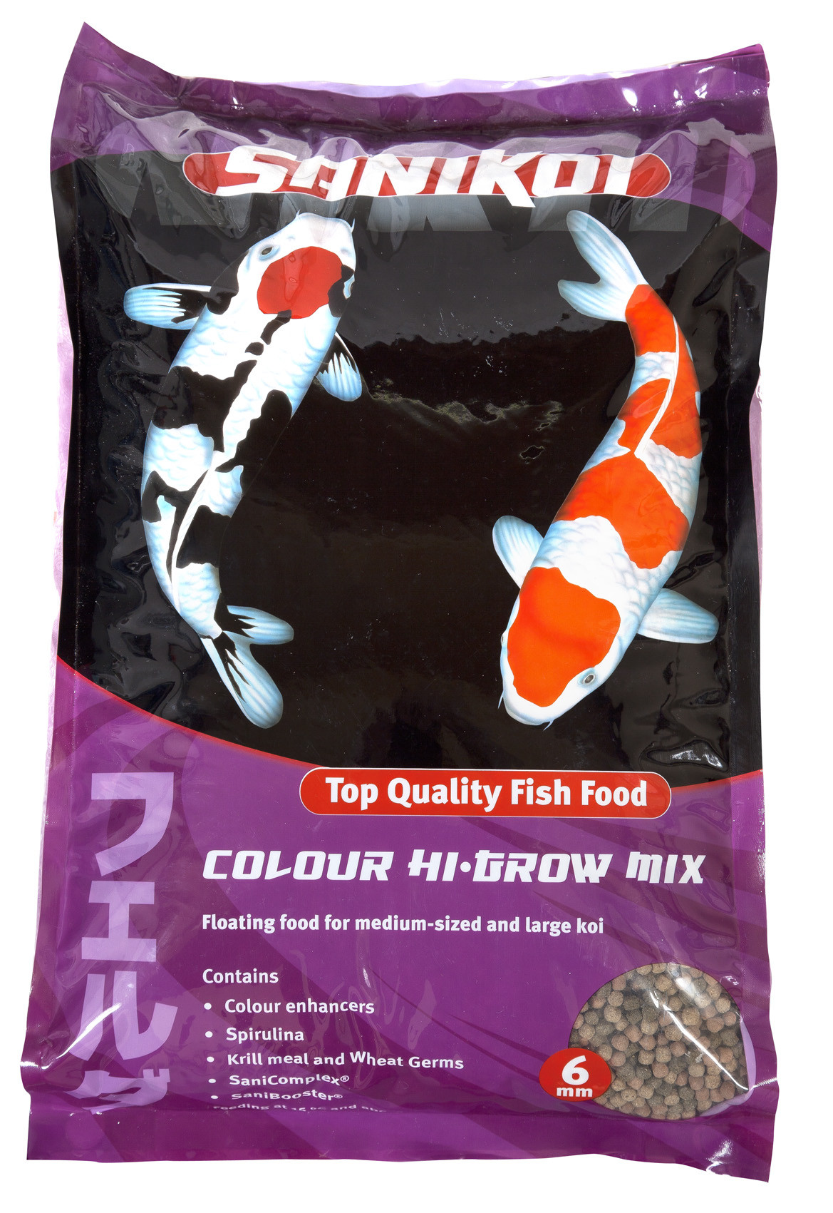 Sanikoi Colour Hi-Grow Mix 6 Mm 10 Liter