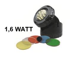 Aquaforte Vijver En Tuin LED Lamp 1x 1,6 Watt