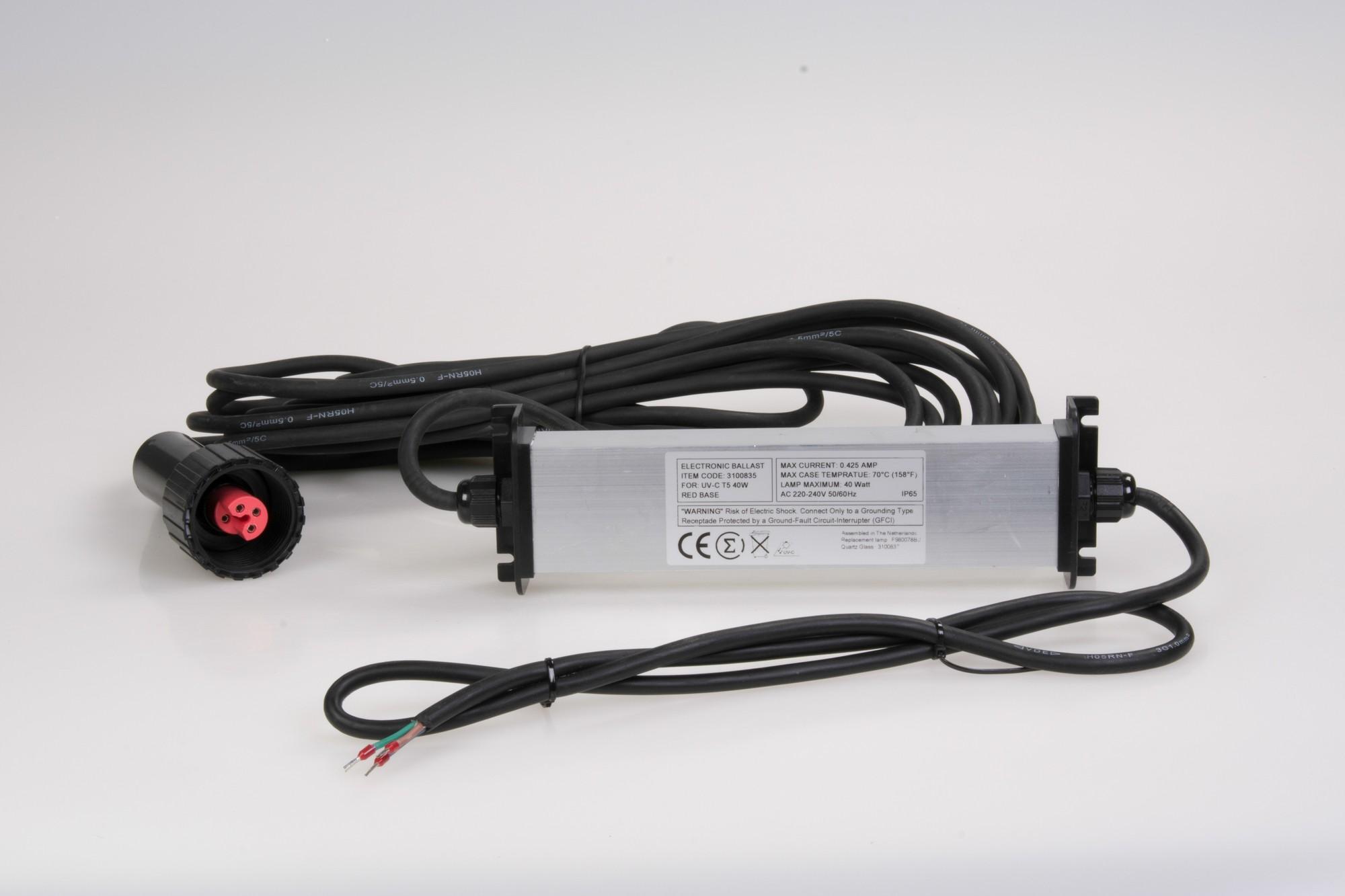 Ballast Voor Dompel UV-C 40 Watt T5