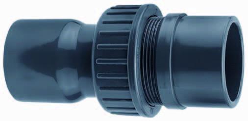 3/3 Koppeling Lijmmof 63mm