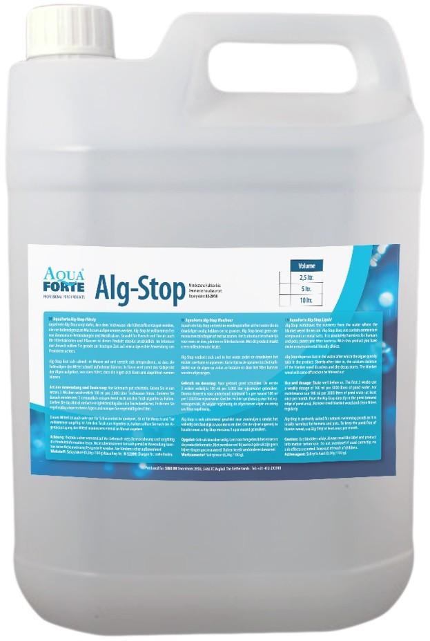 AquaForte Alg-Stop Liquid Vloeibaar Anti Draadalg Middel 5L