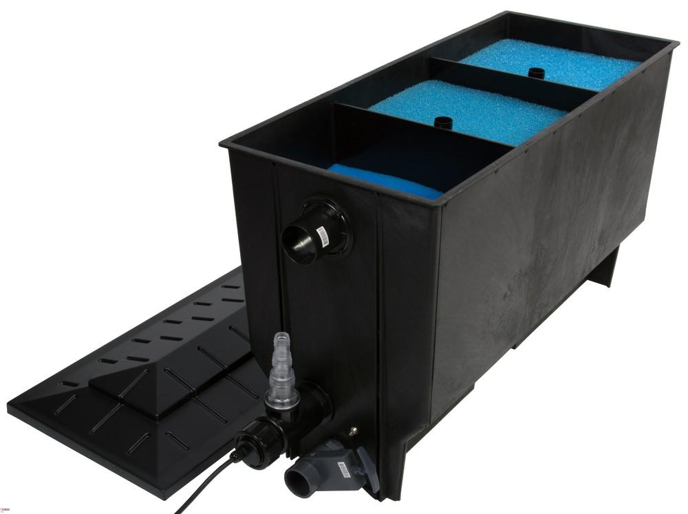 Xclear 3-kamerfilter 220 Ltr + UVC 40 Watt