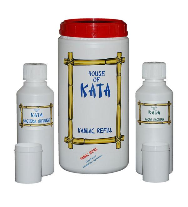 Kamiac Refill Set Met 250 Ml Nutrient En 250 Gr Micro Bacteria