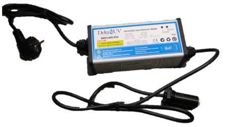 Ballast Delta UV EA-3H-5 Professionele RVS UV-C Unit