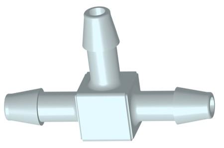 PP T-Stuk 6,4mm