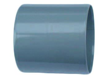 PVC Dubbele Lijmmof 90 Mm Wavin