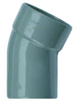 PVC Bocht 22° Mof X Spie 110mm Wavin