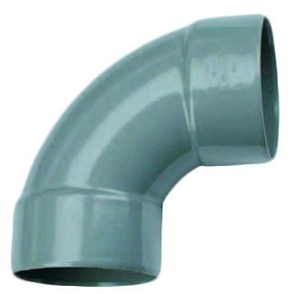 PVC Bocht 88° 2 X Mof 50mm Wavin