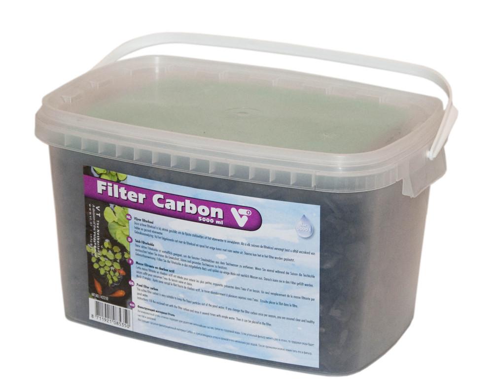 Actief Kool Filtermateriaal Voor Vijvers 5000 Ml