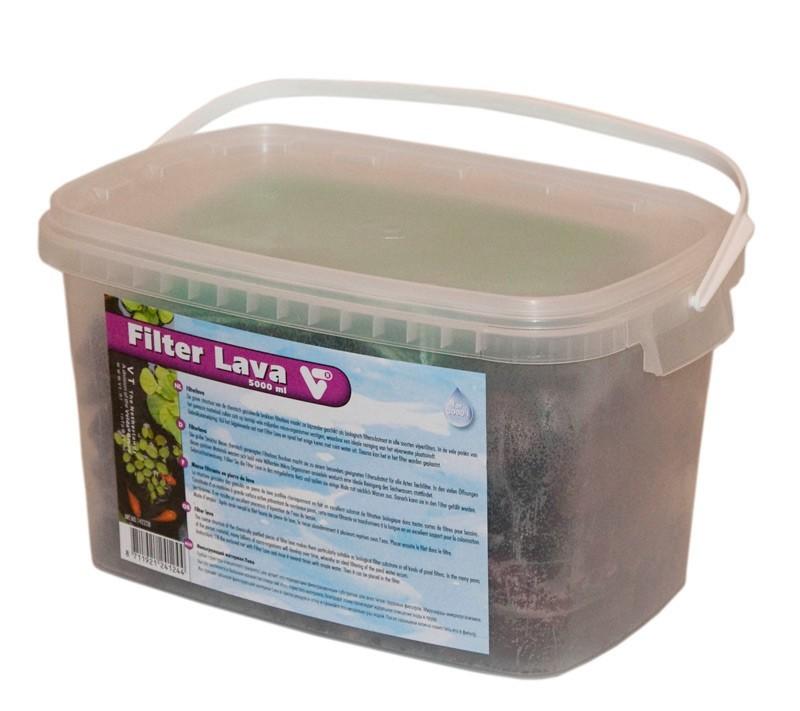 Filterlava Filtermateriaal Voor Vijvers 5000 Ml