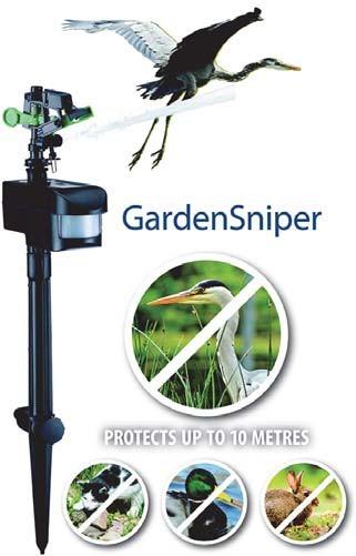 Aquaforte Garden Sniper – Reiger/Dieren Schrik