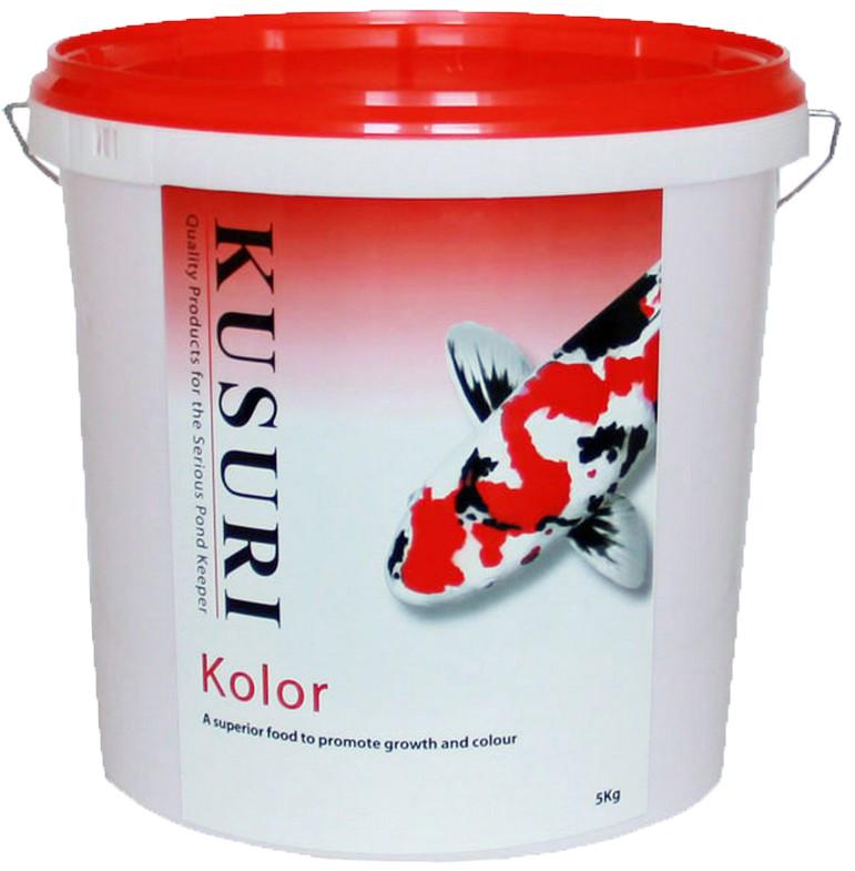 Kusuri Kolor 5 Kilo Emmer Medium Pellets (6 Mm)