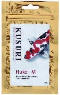 Kusuri Fluke-M Tegen Huid- En Kieuwwormen (65 Gram)
