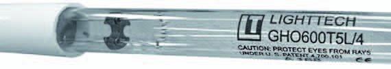 Lighttech TL Losse UV Lamp 110 Watt Voor Delta UV EA-4H-40