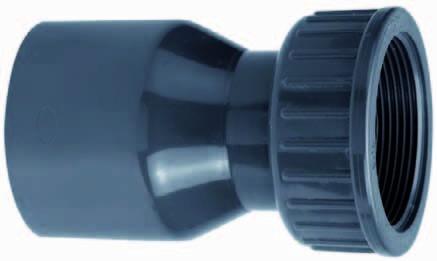 "2/3 Koppeling Lijm 63mm X 2 ½"""