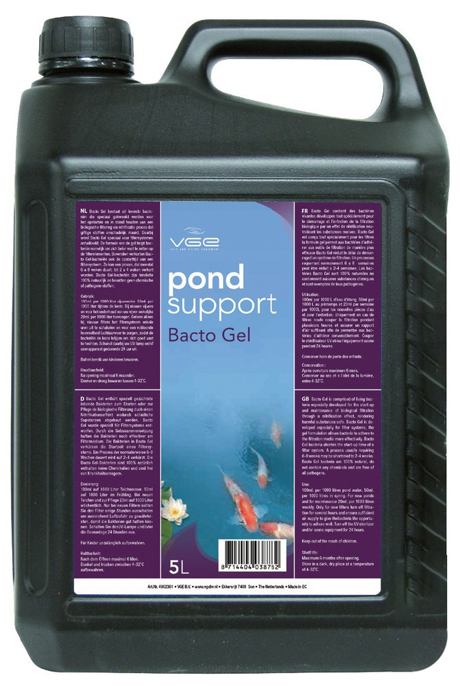 Pond Support Bacto Gel 5L