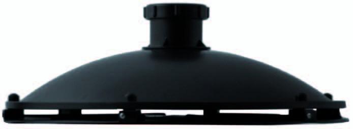 Omgekeerde Bodemdrain 50mm Met Slangtule 20/25/32/38mm