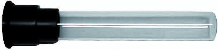 Kwartsglas 5 Watt PL Voor Economy, Multimax Of Professional Unit
