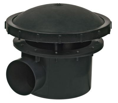 Complete Bodemdrain 110mm Met Beluchtingsdeksel