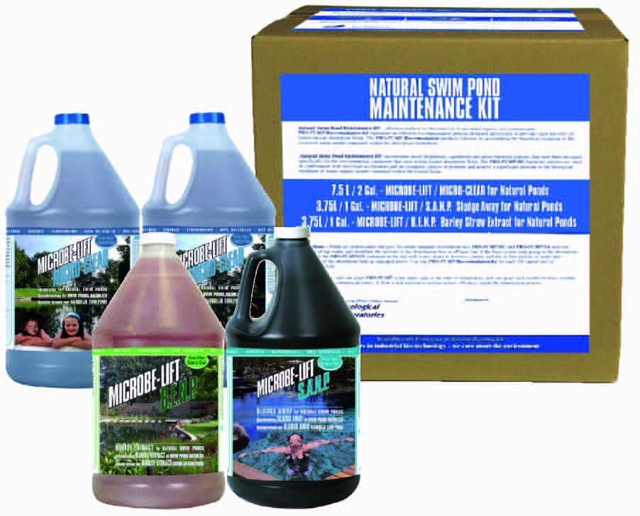 Microbe-lift Onderhoudskit Voor (zwem)vijvers