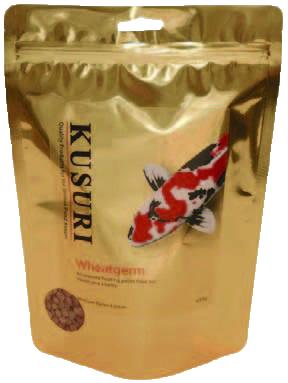 Kusuri Wheat Germ Koivoer 1,5 Kilo Zak Medium Pellets (6 Mm)