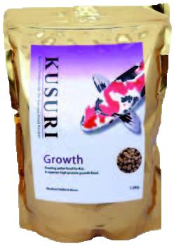 Kusuri Growth Koivoer 15 Kilo Zak Medium Pellets (4-5 Mm)