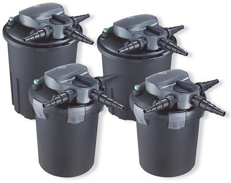 Aquaforte Drukfilter BF6000 Met 9 Watt UVC & Backwash Functie