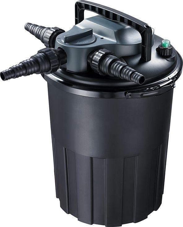 Aquaforte Drukfilter CBF-8000 Met 11 Watt UVC & Backwash Functie