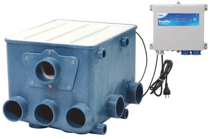 Aquaforte Transparante Deksel Voor AFK-1 Trommelfilter