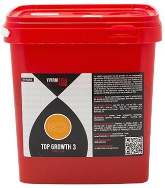 Vivani Top Growth 3mm 5 Liter Emmer